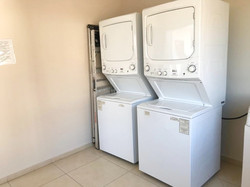 2 Full size washers and dryers.