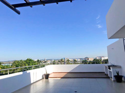 Large roof-top terrace.
