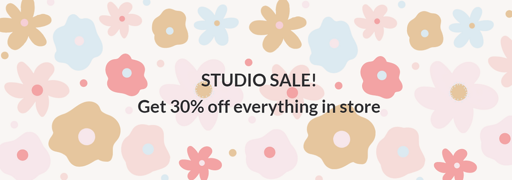 KAIKO Studio Sale! Get 30% off everything in store