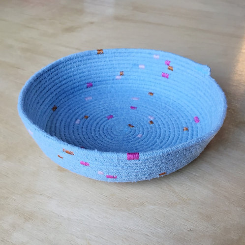 Indigo Rope Bowl - Small