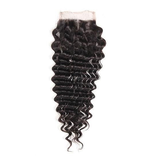 Queen Curly Virgin Closure