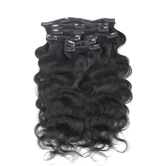 Arabian Body Wave Clip Ins ( 2pks recommended)