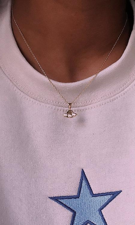 UFO Pendant Necklace