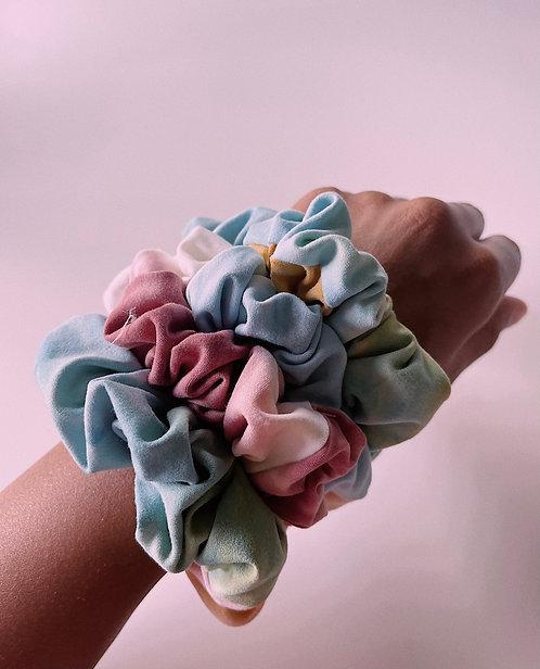 Tie-Dye Scrunchies