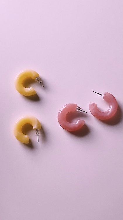 Colorful Tube Earrings