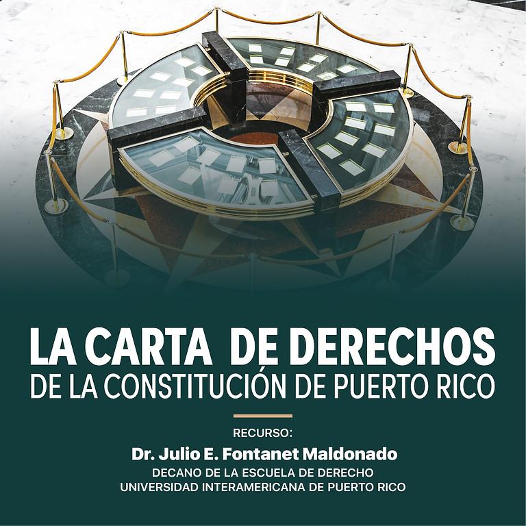 La Carta de Derechos de la Constitución de Puerto Rico
