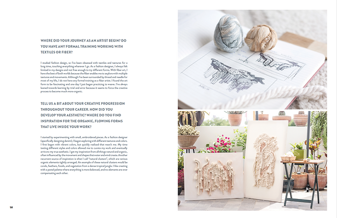 Create! Magazin, Mariana Baertl interview