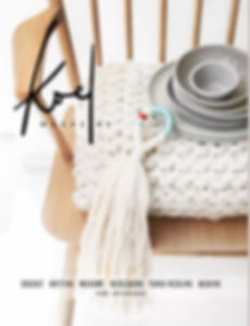 Koel Magazine, Living Fibers feature