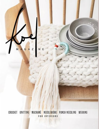 Koel Magazine, Living Fibers feature