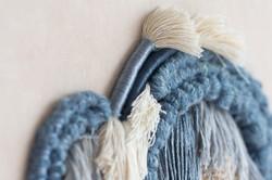 Fiber art close up - Living Fibers