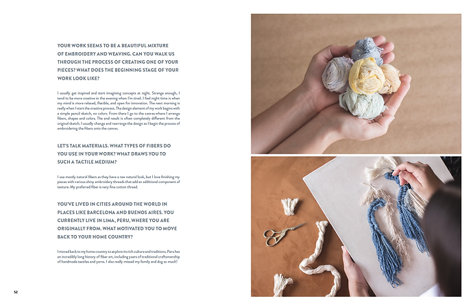 Create! Magazin, Mariana Baertl interview