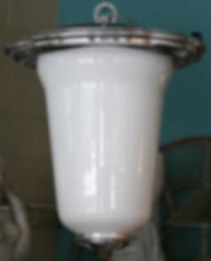 French industrial brass chandelier lighting avantgarden new york kitchen lighting