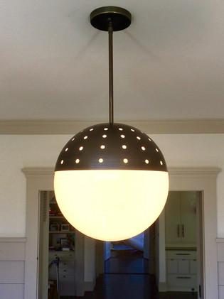 Pierce Globe Pendant