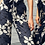 Thumbnail: 'Rue' - Ruffled high waisted beach to go pants in Midnight Bloom (CRBW77)