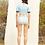 Thumbnail: 'Anja' -Crop Top Baby Blue two piece