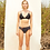Thumbnail: 'Rika' Triangle two piece swimwear in Midnight/Nightwave (CREX191)