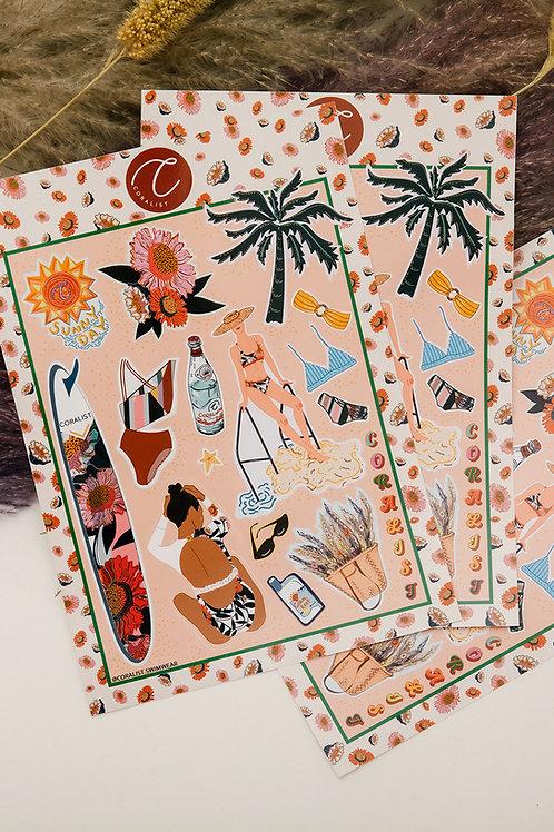 Summer Whisperer Sticker Part I