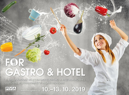 Lyofilizátor AMARU jede na For Gastro 2019