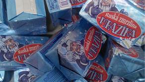 Lyofilizovaná Ruská zmrzlina