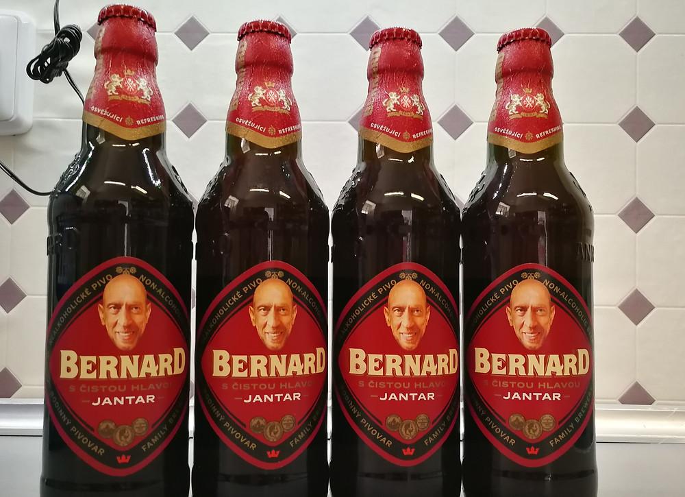 Testovací vzorky pro lyofilizaci piva Bernard Jantar