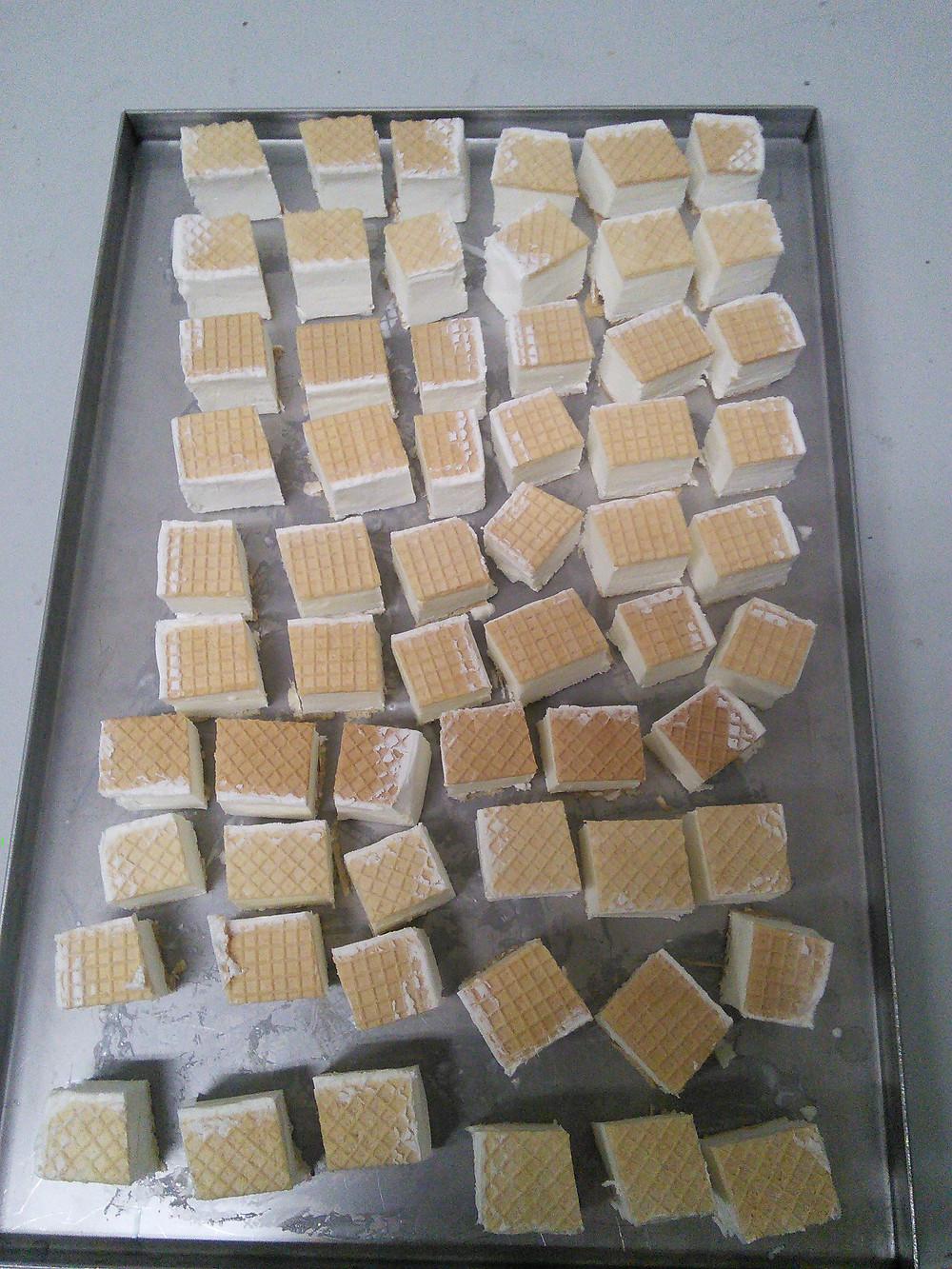 Kostičky lyofilizované Ruské zmrzliny