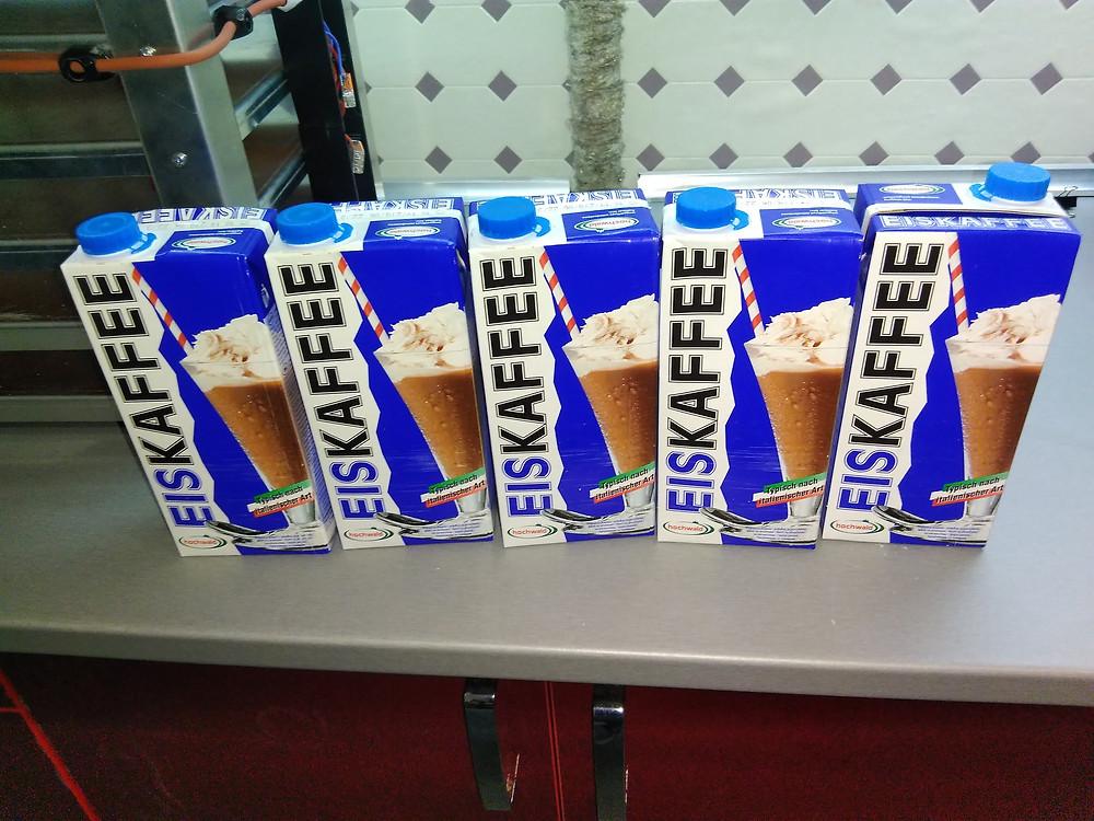 5 litrových krabic Hochwald Eiskaffee