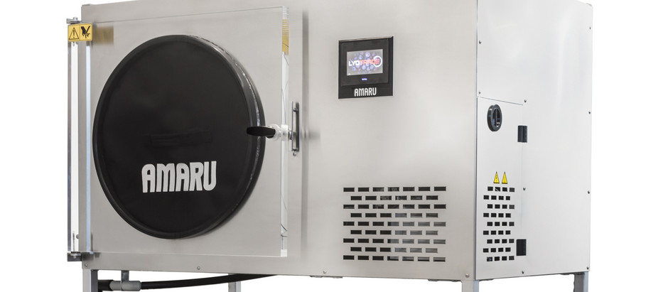 Nerezový lyofilizátor AMARU pro větší gastro provozy