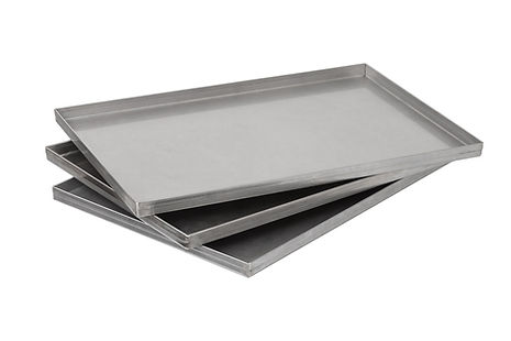 Set produktových táců z nerez oceli pro lyofilizátor