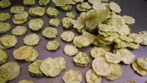 Lyofilizované okurky