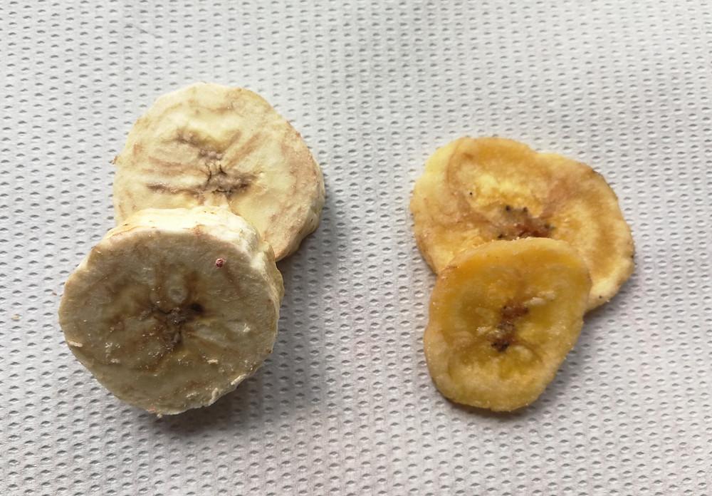 Lyofilizace ananasu