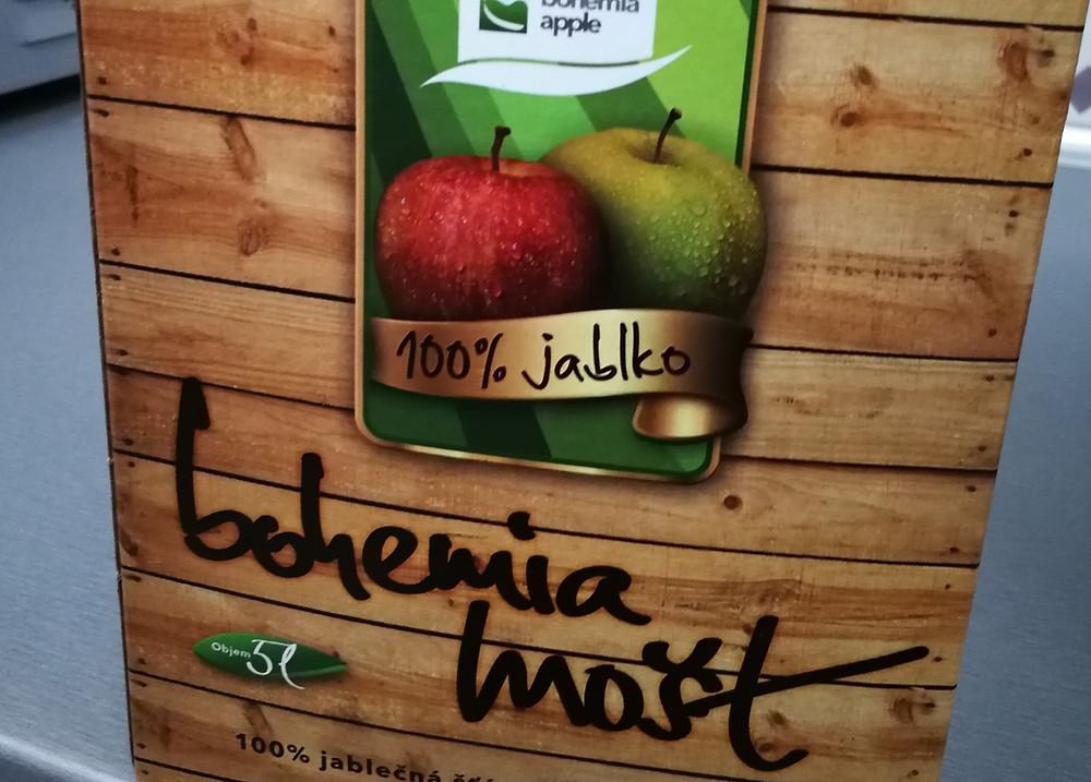 100% mošt bag-in-box od Bohemia Apple