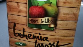 Lyofilizovaný jablečný mošt