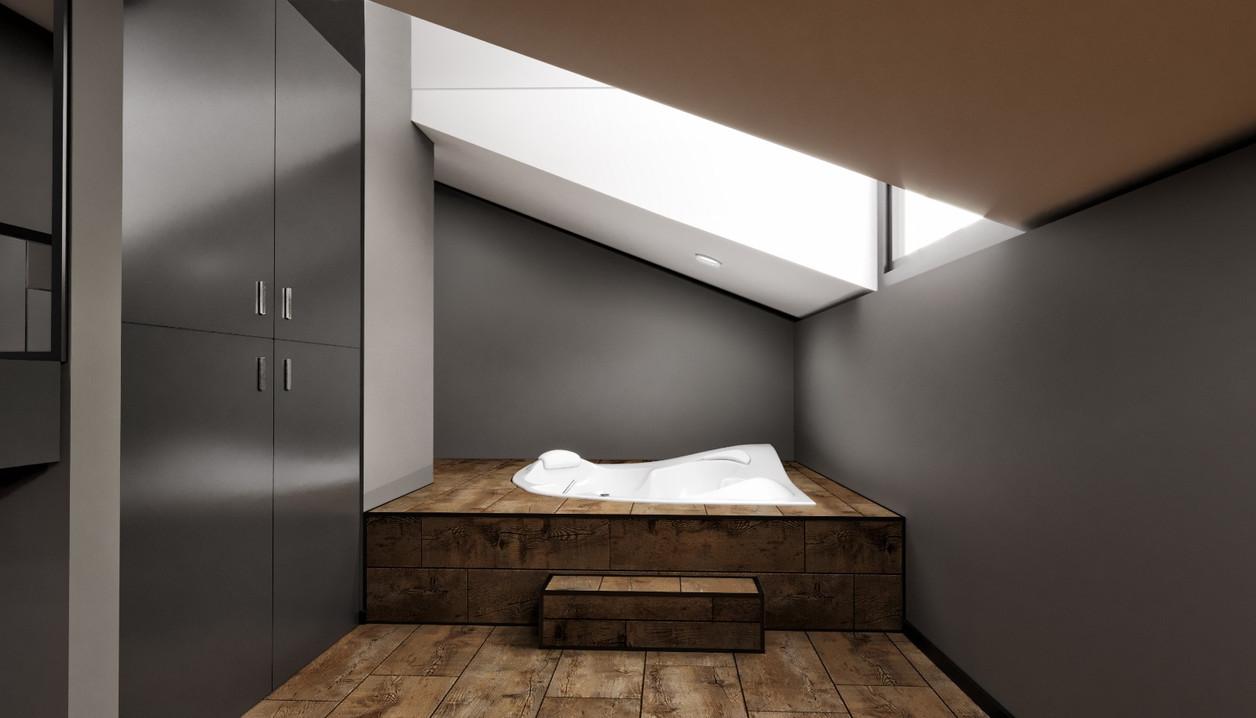Oda için sauna alanı