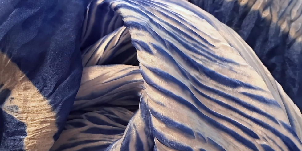 Shibori Silk Scarves- SOLD OUT