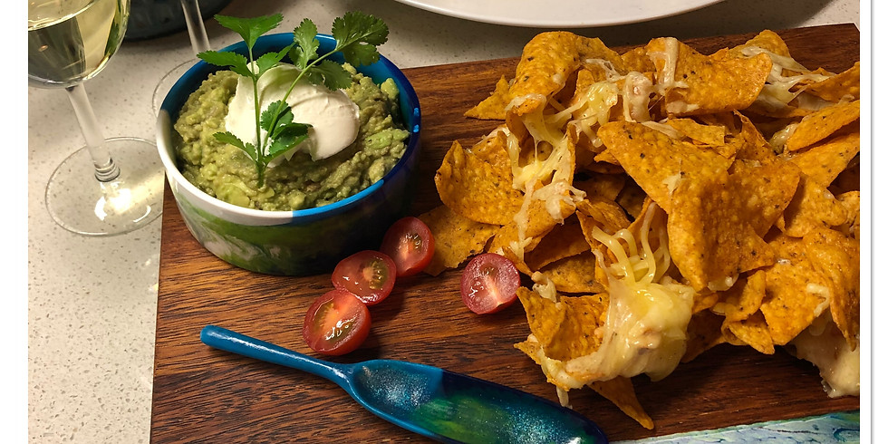 NEW Artisan Nachos Board, Bowl and Spoon - SOLD OUT