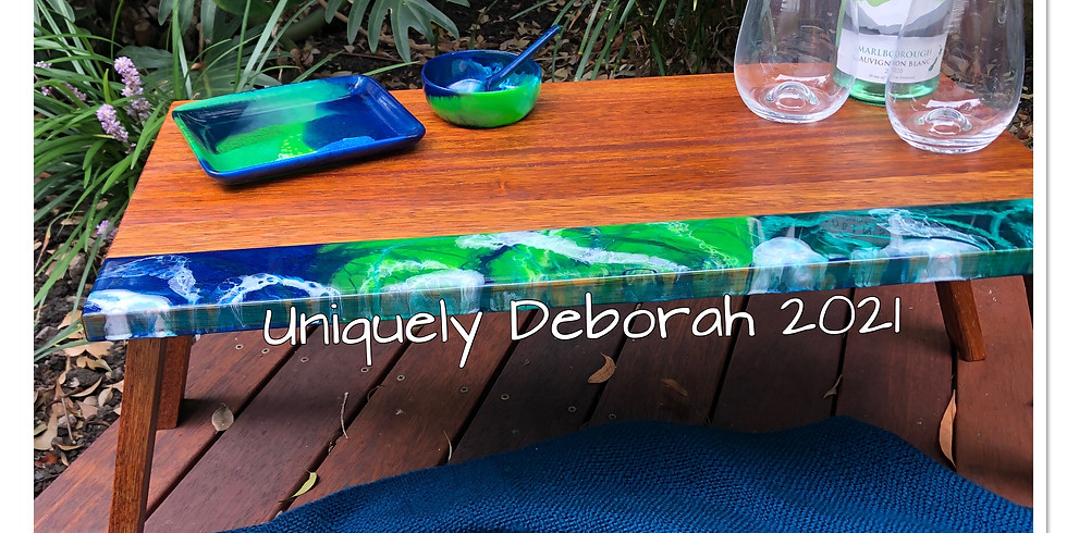 Artisan Resin Picnic Table - SOLD OUT