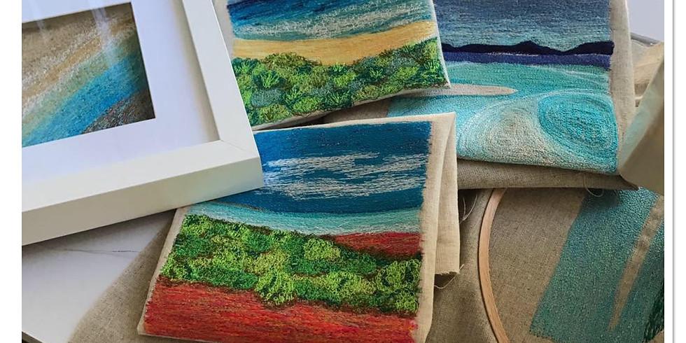 Textile Art Landscapes - SOLD OUT