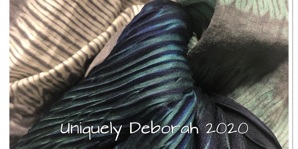 Shibori Silk Scarves (2 tone) - SOLD OUT