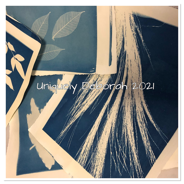 New! Cyanotype Printing - 2 places available