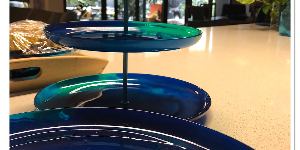 Artisan Resin Cake Stand - Postponed due to COVID 19