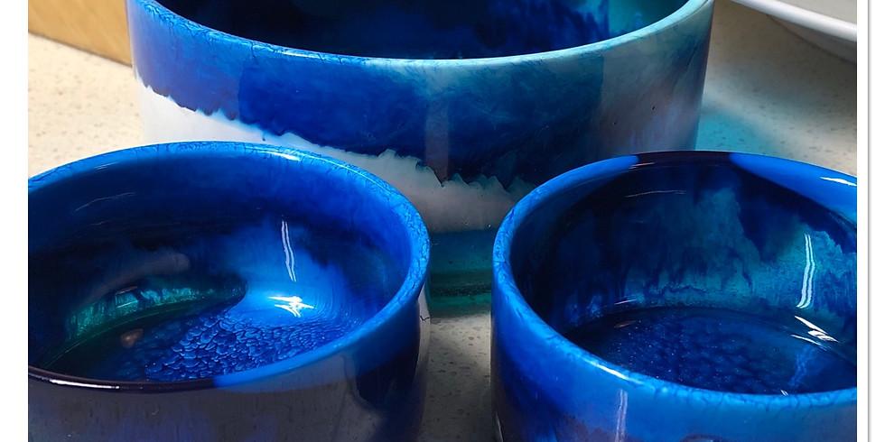 Artisan Resin Bowls