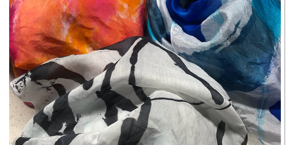 Making Your Mark - Silk Scarves - Bookings Closed