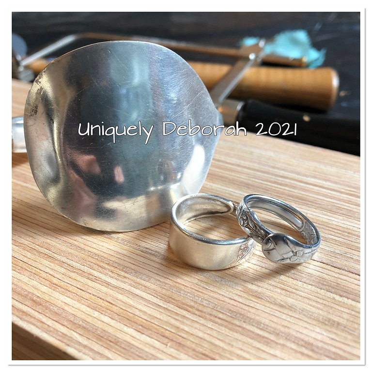 New!  Silver Spoon Bangle and Ring- SOLD OUT