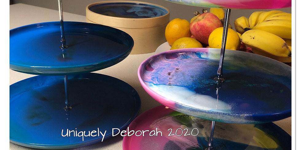 Artisan Resin Cake Stand - 1 place available