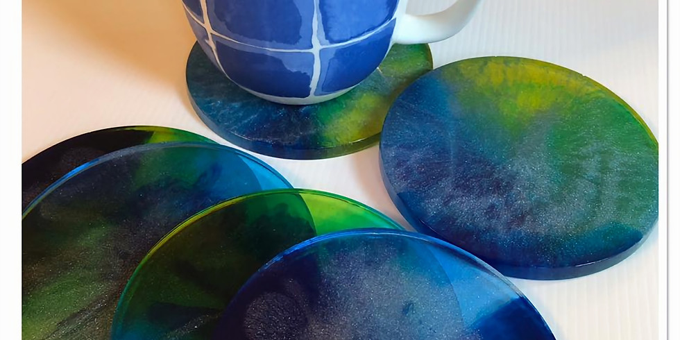 Resin Coasters - Postponed due to COVID 19