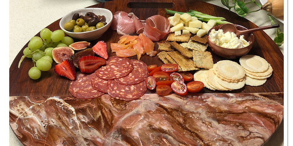 Artisan Resin Charcuterie Board - SOLD OUT