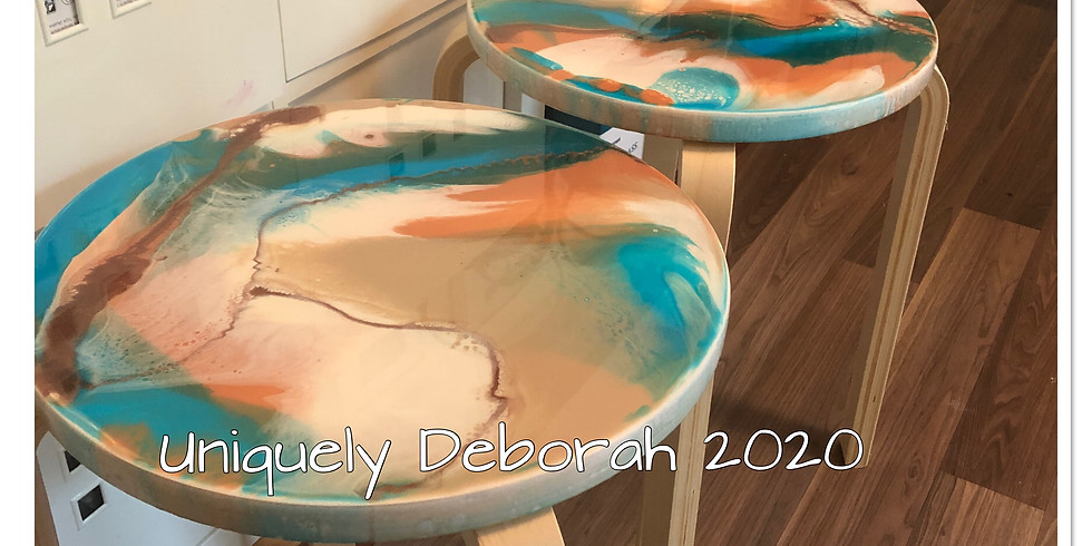 Small Resin Stools - SOLD OUT