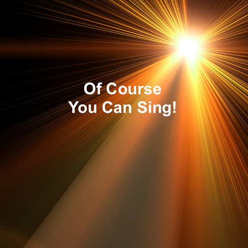 Of Course You Can Sing! Coaching Program