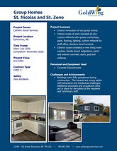 2020 - Project Profile - Group Homes - P