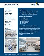 2017 - Project Profile - Dispensaries Lt